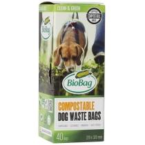 Биопакеты Dog, 40 шт в рулоне, 22х32 см