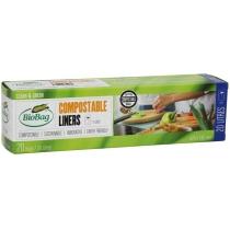 Биопакеты-Майка в рулоне, 20 л, 20шт., 42х52 см