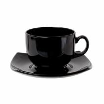 Сервиз чайный LUMINARC QUADRATO BLACK, 12 предметов