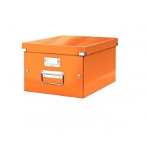 Короб Leitz Click&Store М, оранжевый