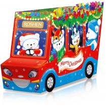Новогодний подарок Веселый автобус ВКФ 320г, Roshen №5