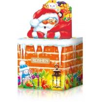 Новогодний подарок Дымоход и Санта ВКФ 280г, Roshen №3