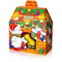 Новогодний подарок Новогодний камин ВКФ 633г, Roshen №12
