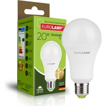 Лампа ЕКО EUROLAMP LED серія  A75 20W E27 3000K (50)