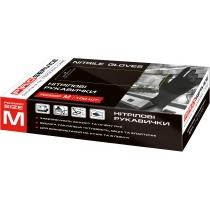 Перчатки нитрил PRO Professional М 100 шт / уп черные