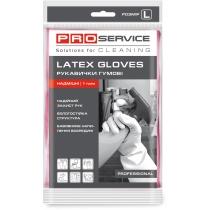 Перчатки универсальные латексные PRO Professional L 1 пара розовые