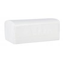 Полотенце бумажное 2-слой V-сложение, белое 150 шт ТЕМА
