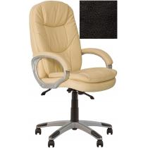 Кресло, BONN KD Anyfix PL35, Экокожа, черный, пласт. база, пласт. подлок. с мягким наклад.