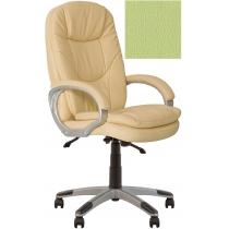 Кресло, BONN KD Anyfix PL35, Экокожа, зеленый, пласт. база, пласт. подлок. с мягким наклад.