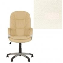 Кресло, BONN KD Tilt PL35, Экокожа, белый, пласт. база, пласт. подлок. с мягким наклад.