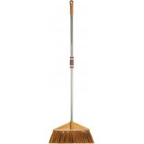 Метла универсальная Optima cleaning с хромированной ручкой 115 см (коричневая)