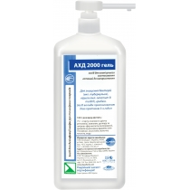 Средство дезинфицирующее Гель АХД 2000 PRO, 1000 мл., универсальный