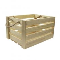 Ящик квадратный, 30х30х21см, сосна, ROSA TALENT