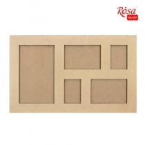 Классическая рамка №3, МДФ, 52,5х32х1,1см, ROSA TALENT