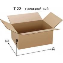 Ящик картонный  650х650х600 мм, на четыре клапана