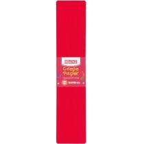 Бумага гофрированная 55%, 50х200см, красная