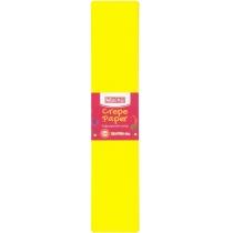 Бумага гофрированная 55%, 50х200см, желтая