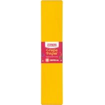 Бумага гофрированная 100%, 50х250см, темно-желтый