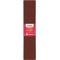 Бумага гофрированная 100%, 50х250см, коричневый