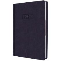 Дневник датированный, NEBRASKA, т.-фиолетовыйй, А5, без паралона