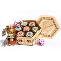 Подарочный набор медовый Vyshyvanka Exclusive, 840 гр.