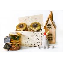 Подарочный набор медовый New Yea Holiday №1, 1200 гр.