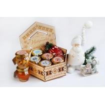 Подарочный набор медовый Vyshyvanka New Year, 840 гр.