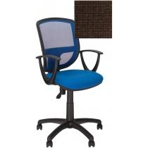 Кресло BETTA GTP P OH/5 C-24, Ткань CAGLIARI, коричневый, Пласт База