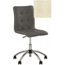 Кресло MALTA GTS CHROME ECO-07, Экокожа ECO, бежевый, Хром база