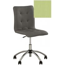 Кресло MALTA GTS CHROME P ECO-45, Экокожа ECO, зеленый, Хром база