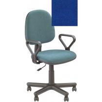 Кресло REGAL GTP NEW C-6, Ткань CAGLIARI, синий, Метал база с пласт наклад