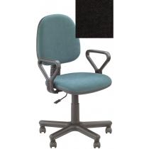 Кресло REGAL GTP NEW C-11, Ткань CAGLIARI, черный, Метал база с пласт наклад
