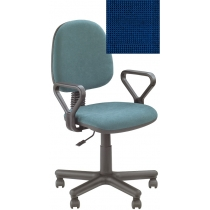 Кресло REGAL GTP NEW C-14, Ткань CAGLIARI, синий, Метал база с пласт наклад