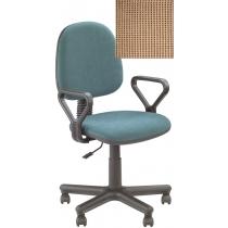 Кресло REGAL GTP NEW C-25, Ткань CAGLIARI, бежевый, Метал база с пласт наклад