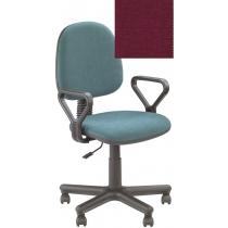 Кресло REGAL GTP NEW C-29, Ткань CAGLIARI, бордовый, Метал база с пласт наклад