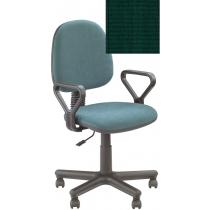 Кресло REGAL GTP NEW C-32, Ткань CAGLIARI, зеленый, Метал база с пласт наклад