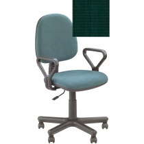 Кресло REGAL GTP NEW P C-32, Ткань CAGLIARI, зеленый, Метал база с пласт наклад