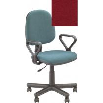 Кресло REGAL GTP NEW C-2, Ткань CAGLIARI, красный, Метал база с пласт наклад