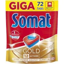 Таблетки для посудомоечной машины Somat Голд 72 шт