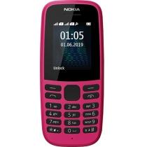 Мобильный телефон NOKIA 105 Dual SIM (pink) TA-1174