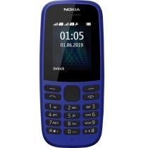 Мобильный телефон NOKIA 105 Dual SIM (blue) TA-1174