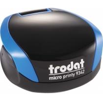 Оснастка карманная для печати Trodat Micro Printy 9342 синяя, пластик d 42 мм
