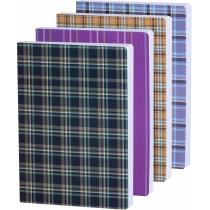 Ежедневник датированный А5 белый,  полноцветная обложка, асcорти