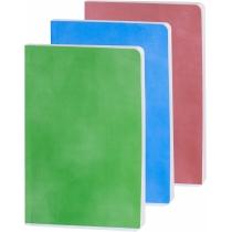 Ежедневник датированный А5 крем,  полноцветная обложка, асcорти
