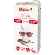 Органическое растительное молоко Ecomil из земляного ореха (Чуфа) без добавления сахара, 1 л