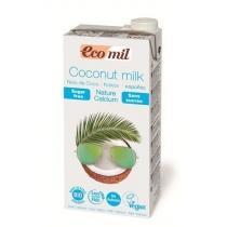 Органическое растительное молоко Ecomil из кокоса с кальцием, 1 л