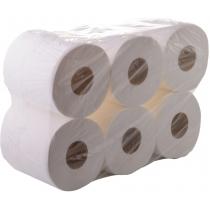 Туалетная бумага 2 слоя Eco Point Джамбо 100 м, 12 рулонов