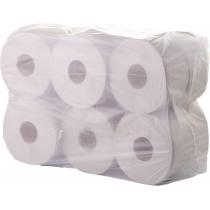 Туалетний папір 1 шар Eco Point макулатурний 100 м, 12 рулонів