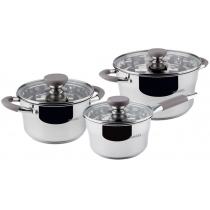 Набор посуды RINGEL Trent Набор 6 пр. ковш 1.7 л Кастрюля +2.4л+3.3 л