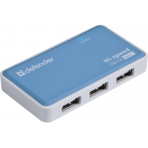 USB-хаб Defender Quadro Power+Adapter 4xUSB 2.0